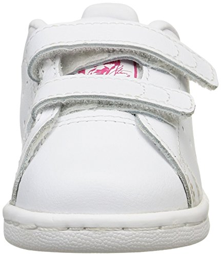Adidas ftwr Branco Unisex Ftwr Bebê Rosa Walker Cf Brancos Negrito Branco Sapatos Stan Smith Originals zTrxqz4