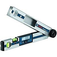 Bosch Professional Winkelmesser GAM 220, 40 cm Schenkellänge, Messbereich 0-220 Grad, Messgenauigkeit, 1 Stück, 0601076500