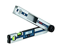 Bosch Professional Winkelmesser GAM 220 (Messbereich 0-220°, Messgenauigkeit ± 0,1°, Schenkellänge 40cm, im Karton)