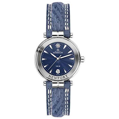 Michel Herbelin Newport Women's Watch Blue/Silver 14255/35