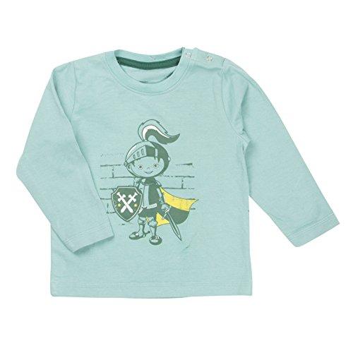 Minymo Tiny Boy Langarmshirt w. Knight Burt 76 Aque Sea 92