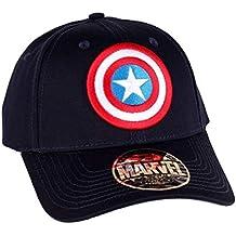 Capitán América Escudo logotipo gorra de béisbol ...