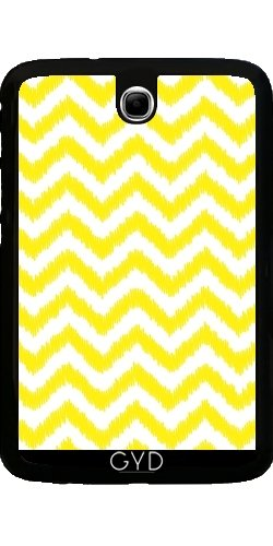 hulle-fur-samsung-galaxy-note-8-n5100-ikat-chevron-gelbes-muster-by-petra