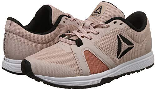 c4f8e2e56bf ... Reebok Women s Mighty Trainer Shell Pink Black Multisport Training Shoes  - 9.5 UK India ...