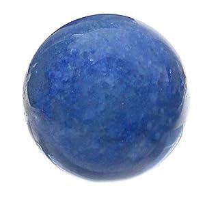 budawi® – Edelstein Kugel Blauquarz Ø 3 cm , Edelsteinkugel, Kugel Blauquarz Dekokugel