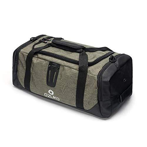 Everwell Sporttasche für Männer, Reisetasche mit Schuhfach, Gym Fitness Sport Tasche mit Rucksack-Funktion Groß Wasserdicht Handgepäck Weekender Trainingstasche für Herren & Frauen