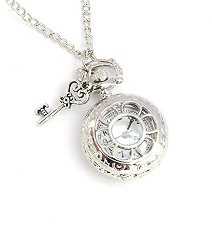 Schlüssel Kettenuhr Uhrenkette Damen