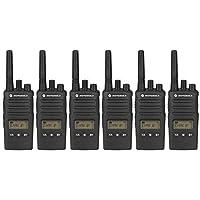 MOTOROLA XT460 PMR446 Lizenz, Two Way Radio mit Synetix Throat Mic &Versteckte Ohrhörer x 6