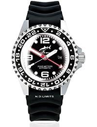 Chris Benz Deep 2000m Automatic GMT Super Bubble CB-2000A-D3-KB Automatic Mens Watch Diving Watch