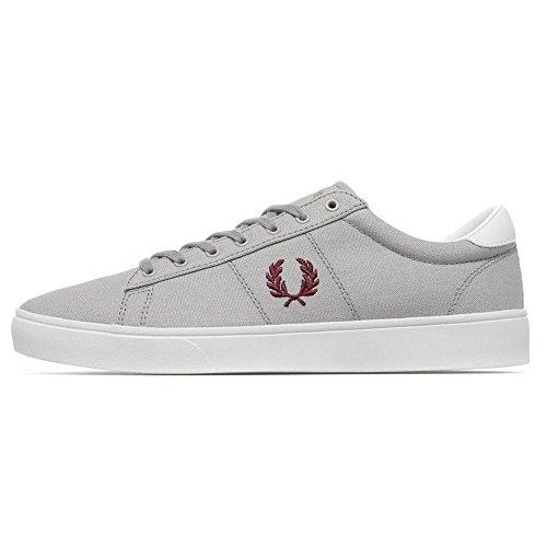 fred-perry-scarpe-uomo-sneakers-basse-b8285-spencer-canvas-grigio-taglia-40-grigio