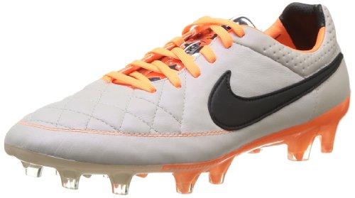 Nike Herren Fußballschuhe, Beige - Beige (Desert Sand/Black/Atmc Orange), 8