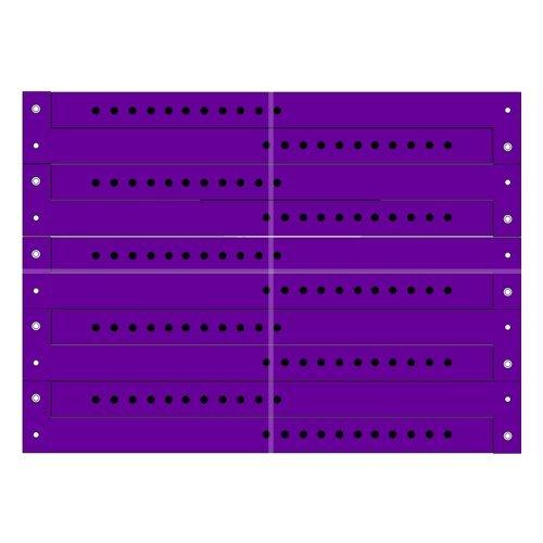 entree-et-identification-bracelets-vinyle-500-pieces-couleur-violet
