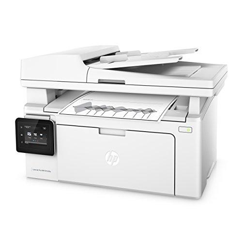HP LaserJet Pro M130fw Laserdrucker Multifunktionsgerät (Drucker, Scanner, Kopierer, Fax, WLAN, LAN, Apple Airprint, HP ePrint, JetIntelligence, USB, 600 x 600 dpi) weiß - 4