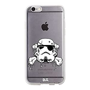 DailyObjects Pirate Trooper Silicone Clear Case For iPhone 6