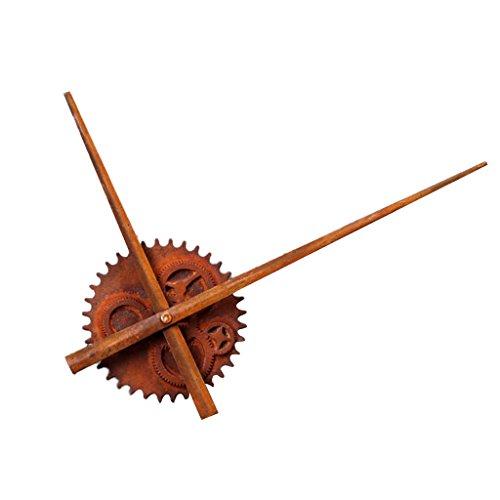 F Fityle XXL Große Holz Wanduhr Uhrzeiger Uhr Zeiger Uhrwerk Ornament