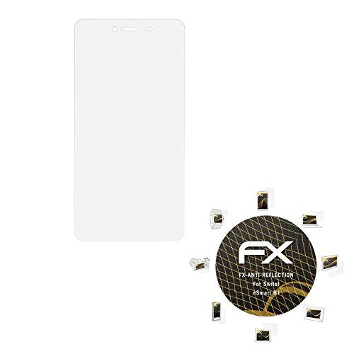 atFolix Panzerfolie kompatibel mit Switel eSmart H1 Schutzfolie, entspiegelnde & stoßdämpfende FX Folie (3X)