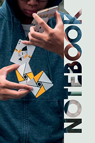 Notebook: Cardistry Professional Composition Notebook for Experts in Card Manipulations