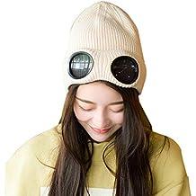 Boomly Inverno Outdoor Caldo Morbido Berretti in Maglia Beanie Cuffia  Berretto da Sci Cappelli da Donna 2ae4933e9721