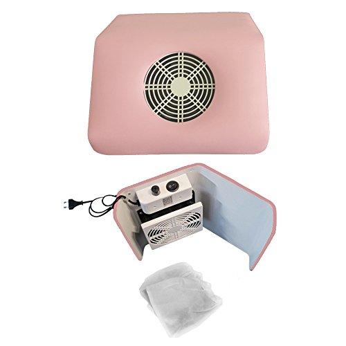 Aspirateur à poussières professionnel rose incl. 2sac réutilisables