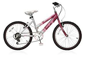 20 Zoll Jugend Fahrrad Rad Bike Mountainbike Kinderfahrrad Mädchenfahrrad 6 Gang Abrar Krusch