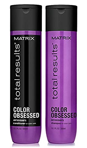 Matrix Total Results Color Obsessed Antioxidant Set - Shampoo 300ml + Conditioner 300ml