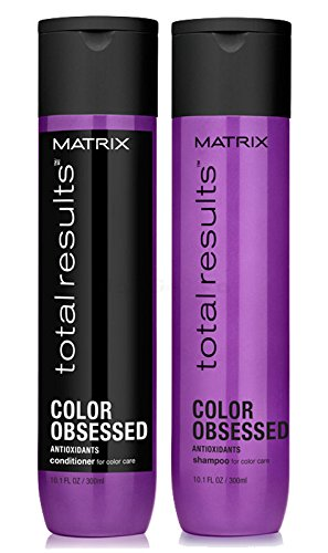 Matrix Total Results Color Obsessed Antioxidant Set - Shampoo 300ml + Conditioner 300ml - Antioxidant Conditioner