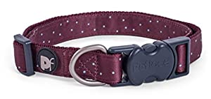 Petface Ensemble OX sang Ditsy spot Collier de chien, Medium