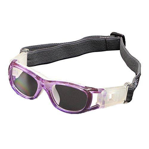Dexinx Unisex Kind Einstellbare Anti-UV Motocross Roller Fahrrad Aviator Brille Aktivitäten Im Freien Militärische Taktik Sonnenbrillen Lila