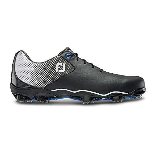 Footjoy Herren D.n.a Helix Golfschuhe, Schwarz (Negro 53318), 43 EU (Footjoy 10 Sport Golf Schuhe)
