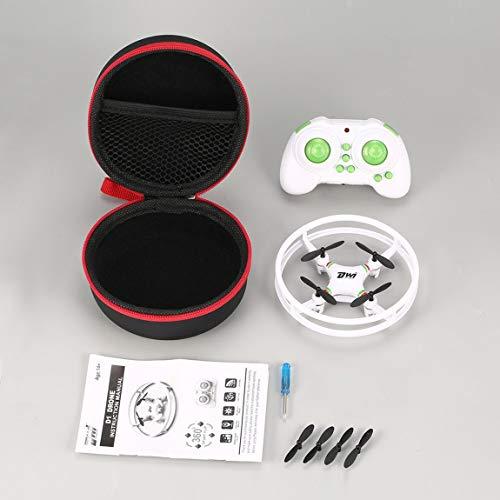 DWI D1 Mini drone 3D Voltage Mode sans retour d'une touche Interrupteur de vitesse H/L Quadcopter RC portable avec lumière flash LED (couleur : noir)