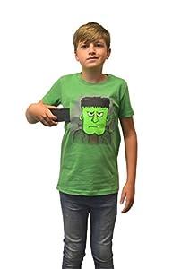 Digital Dudz Moving Eyes Frankie Stein Franke T-Shirt Infantil