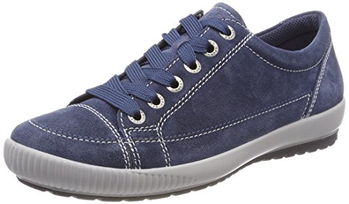 Legero Tanaro, Damen Low-Top Sneaker, Blau (Indaco), 41.5 EU (7.5 UK)