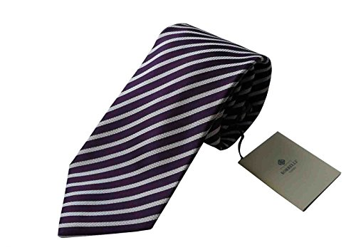 luigi-borrelli-napoli-italy-mens-tie-luxury-purple-stripe-100-silk