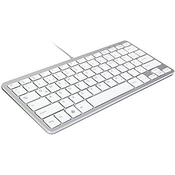 Grundig 72857 extra dünn Tastatur weiß: Amazon.de