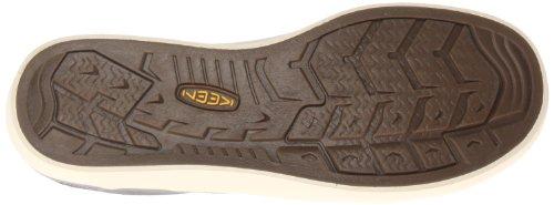Keen santa cruz slip-on pour homme en cuir bleu baskets, chaussures mocassins femme - Oceano