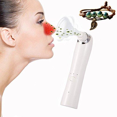 WeijinBeauty Mitesser Entfernung,Electronic Facial Pore Cleaner Akne Remover nutzt Pore Vacuum Extraction elektrische Poren reinigt Peeles und Oberflächen der Haut und nutzt Pore Vakuum-Extraktion zur Förderung der Haut Gesundheit & Gesichts-Erneuerung Gesichts-vakuum-extraktor