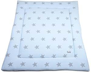 Baby's Only, Rivestimento interno per box bimbo, Blu (Baby Blau/Grau)