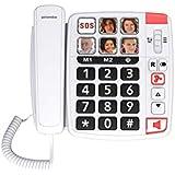 SWISSVOICE Xtra 1110 Téléphone Filaire Blanc