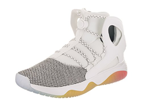 Nike Mens Air Flight Huarache Ultra Scarpa Da Basket Bianco / Puro Platino / Bianco