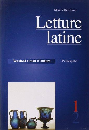 Letture latine. Con schede di verifica. Per le Scuole superiori: 1