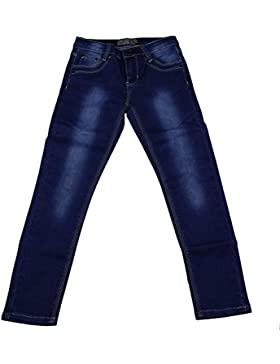 Creamie Kinder Mädchen Jeans, Leichte Waschung, Elastischer Bund, Alter: 13-14 Jahre, Größe: 164, Farbe: Blau,...