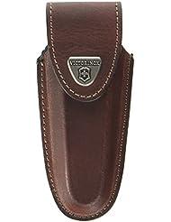 Victorinox - Estuche de piel para cinturón para navaja, color marrón