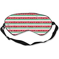 Natural Silk Eyes Mask Sleep Funny Watermelon Blindfold Eyeshade with Adjustable for Travel,Nap,Meditation,Sleeping... preisvergleich bei billige-tabletten.eu