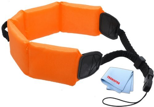 Tronix Floating Strap - Orange For Fuji