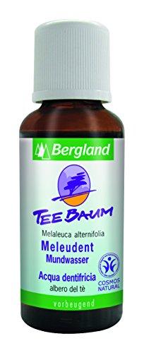 Bergland Teebaum Mundwasser 30ml (Teebaum Öl Mundwasser)