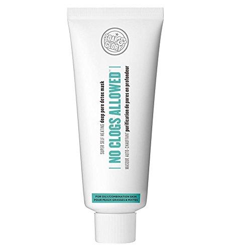 Soap & Glory No Clogs Allowed Super Self-Heating Deep Pore Detox Mask 100ml