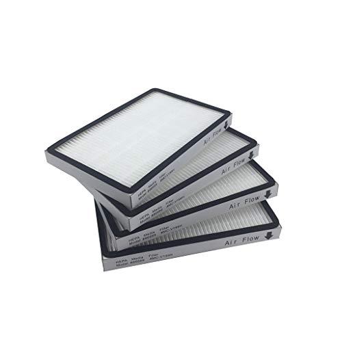 Finebuying 4 Stück Ersatz Vakuumfilter HEPA Filter Ersatzzubehör für Kenmore EF-1 86889 Luftreiniger Staubsauger (Weiß) -