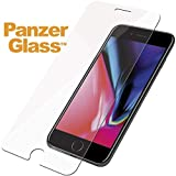 PanzerGlass Clear Tempered Glass for Apple iPhone 6 Plus,6s Plus,7 Plus, 8 Standard Fit with Easy Installation Kit
