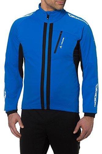 VAUDE Herren Radsport Softshelljacke Kuro II Hydro Blue