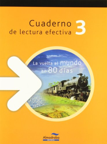 La vuelta al mundo en 80 días. Cuaderno de lectura efectiva (Cuadernos de lectura efectiva) - 9788483087787